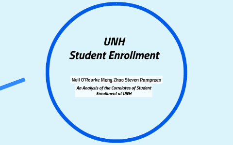 Student Enrollment At Unh By Neil Orourke On Prezi