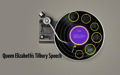 queen elizabeth tilbury speech