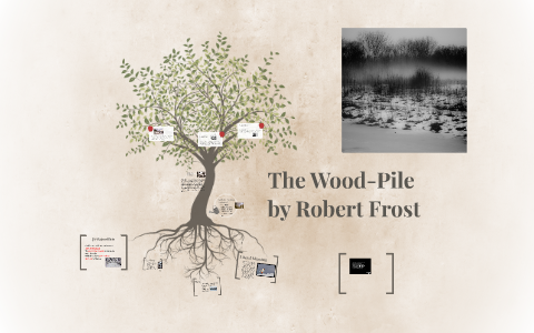 the woodpile robert frost literary devices