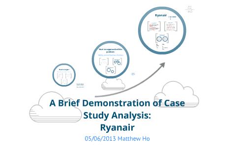 ryanair case study analysis