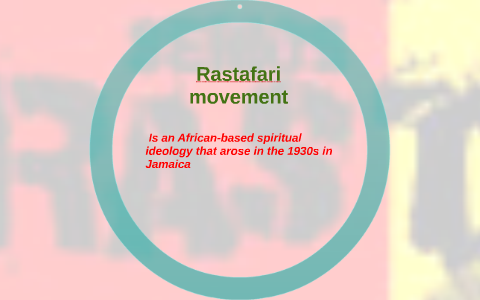 is an African-based spiritual ideology that arose in the 19