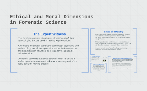 Ethical and Moral Dimensions by on Prezi