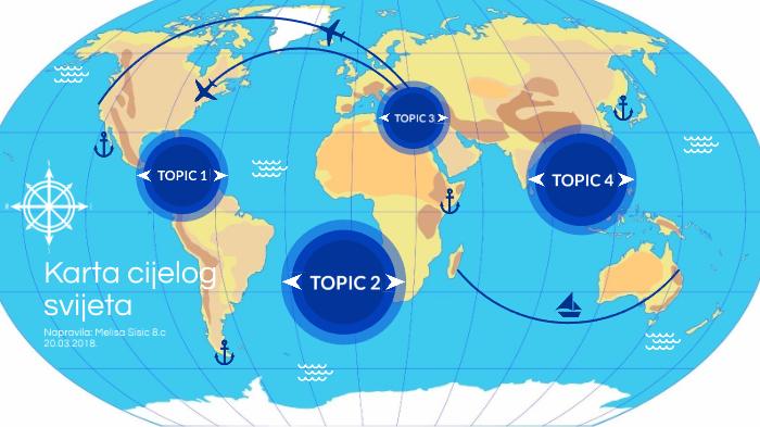 Kanada Karta Svijeta.Karta Cijelog Svijeta By Melisa Sisic On Prezi Next
