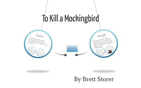 examples of satire in to kill a mockingbird
