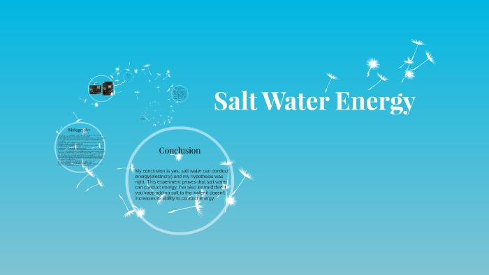 Salt Water Energy by on Prezi