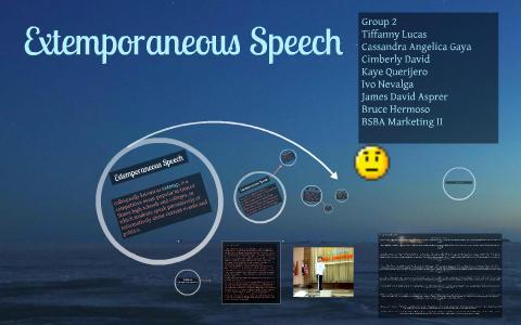 What Is Extemporaneous Speech