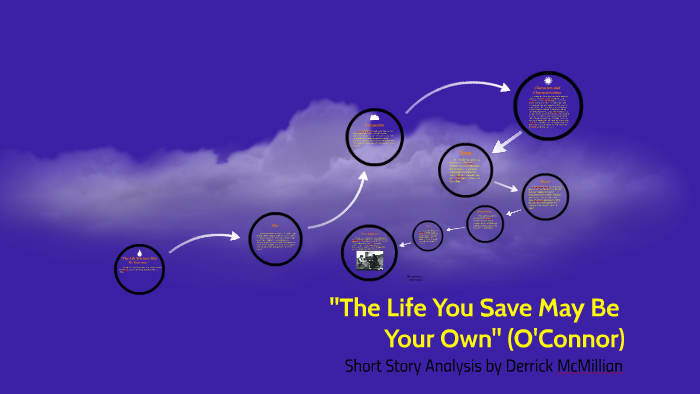 the life you save may be your own analysis