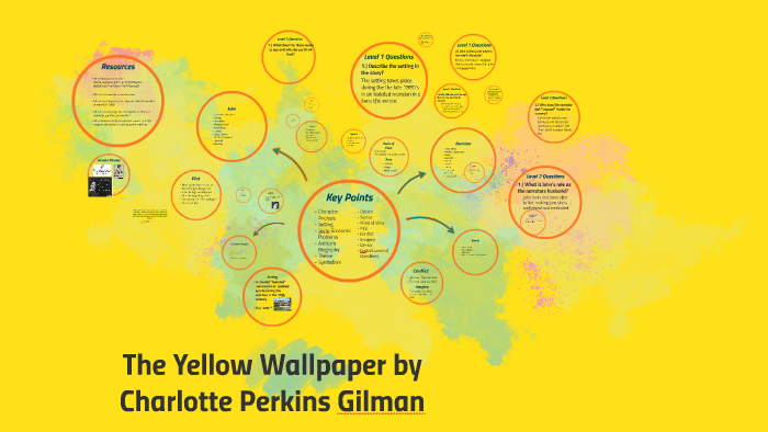 The Yellow Wallpaper By Charlotte Perkins Gilman By Estrella