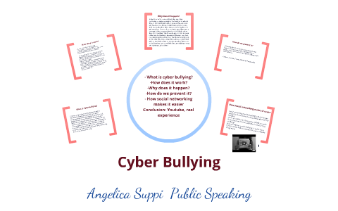 Cyber Bullying - Public Speaking by Angelica Suppi on Prezi