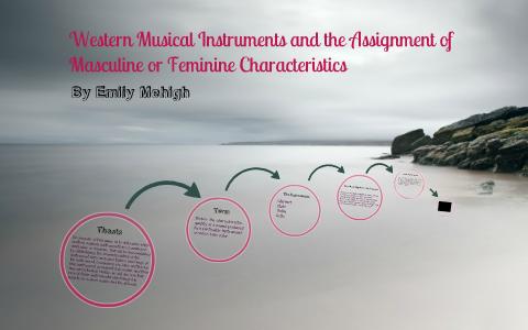 Feminine masculine characteristics and All characteristics