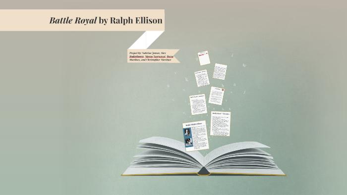 battle royal ralph ellison short story
