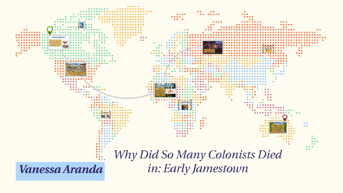 why did so many jamestown colonists died