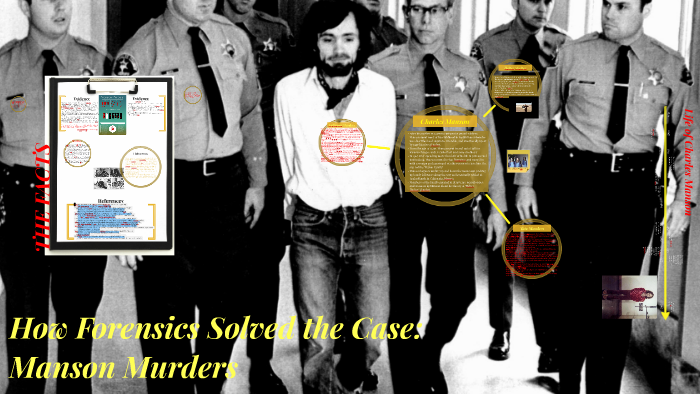 How Forensics Solved the Case: Manson Murders by Chelsea Davignon on