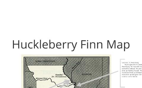 Huck Finn map by hunter belcher on Prezi