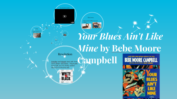 bebe moore campbell your blues ain t like mine