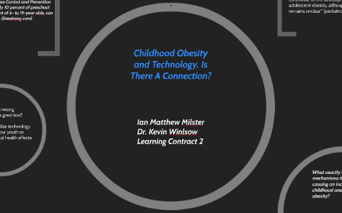 technology and childhood obesity whats the connection