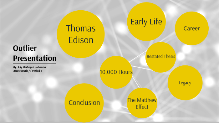 Thesis statement of thomas edison how to write and illustrate