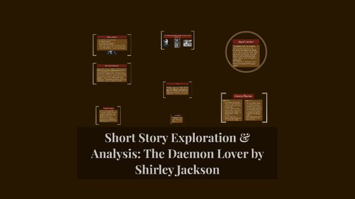 the demon lover analysis sparknotes