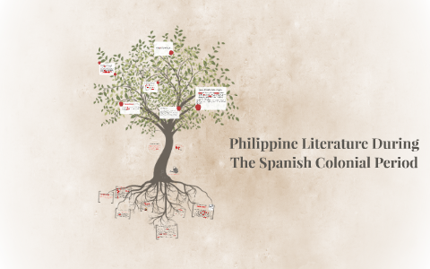 Philippine Literature During The Spanish Colonial Period by Ashley