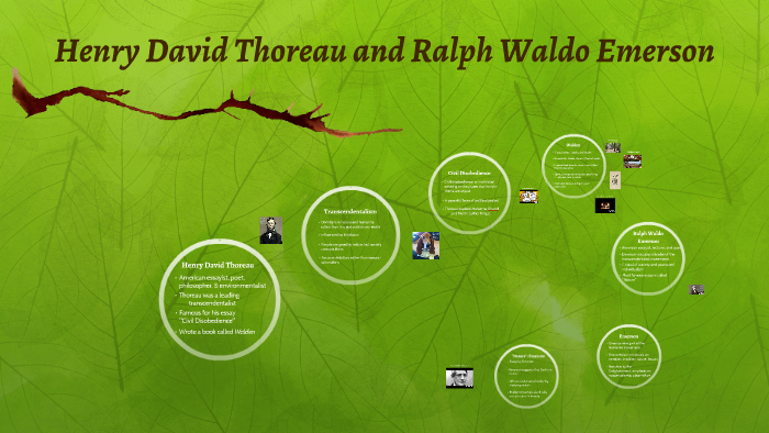 similarities between emerson and thoreau