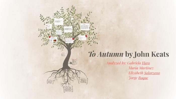 keats ode to autumn analysis