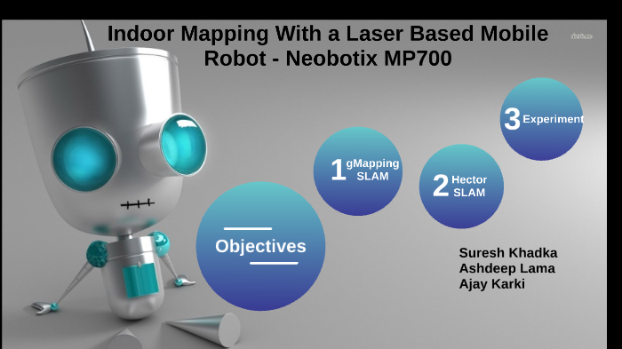Indoor Mapping With a Laser Based Mobile Robot - Neobotix