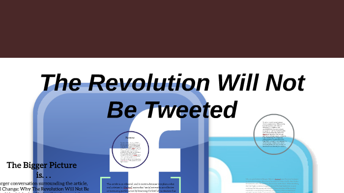 gladwell revolution tweeted