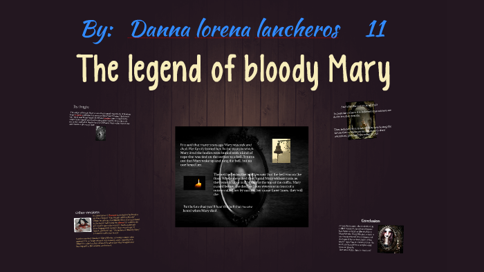 janet langlois bloody mary essay
