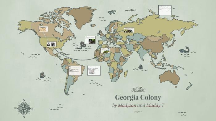 Map Of Georgia Colony.Georgia Colony By Maddy Toebe On Prezi