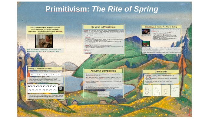 what is primitivism in music