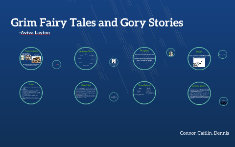 grim fairy tales and gory stories thesis