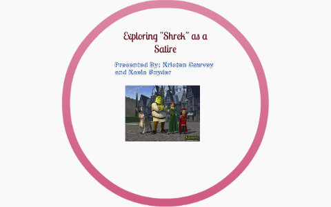 Exploring Shrek As A Satire By Kristen Cawvey On Prezi