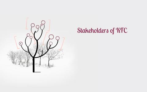 five stakeholders of kfc