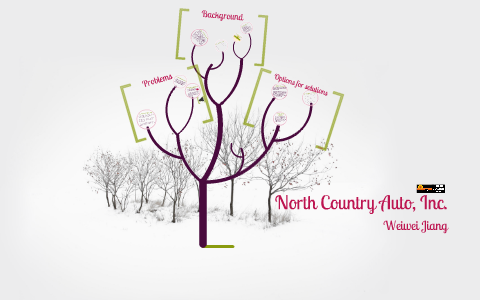North Country Auto >> Case Analysis North Country Auto By Weiwei Jiang On Prezi