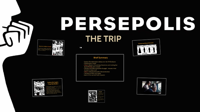 Persepolis The Trip By Savera J