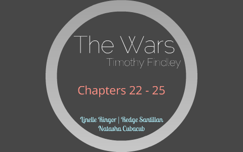the wars timothy findley summary