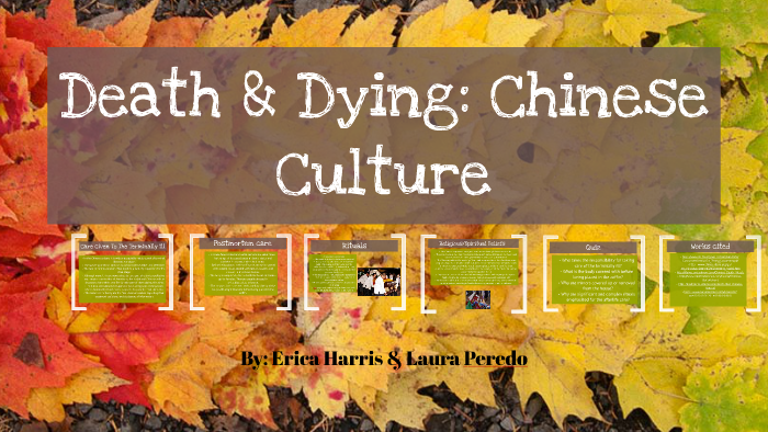 chinese culture death and dying