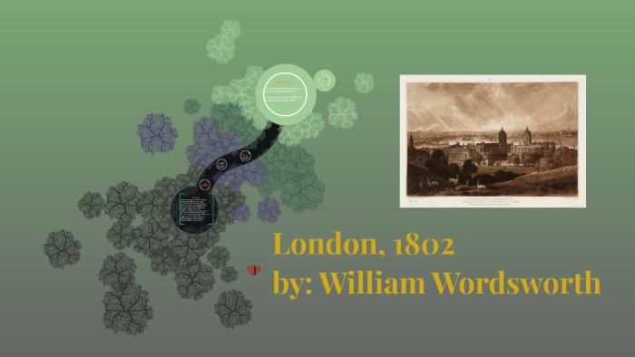 wordsworth sonnet london 1802