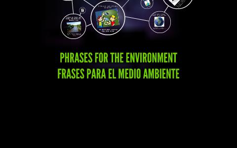 Frases Sobre El Medio Ambiente By Sebastian Rendón On Prezi