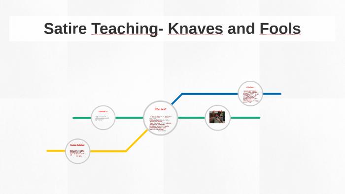 Satire Teaching Knaves And Fools By Pranav Turaga On Prezi