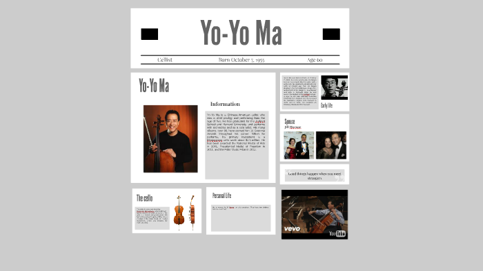 Yo-Yo Ma by Molly Dakota on Prezi