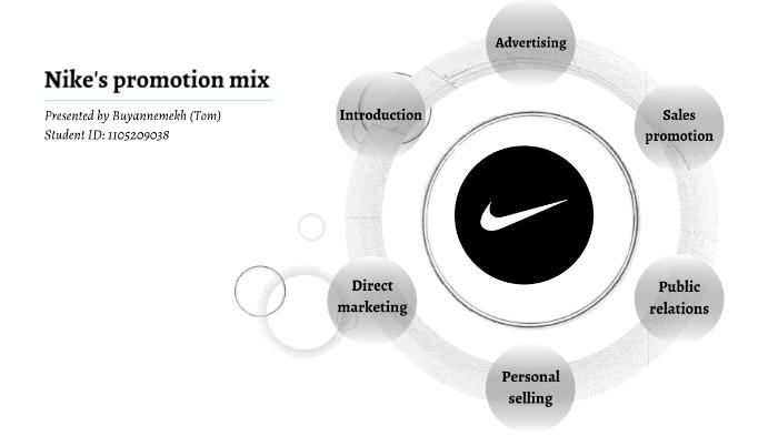 Nike S Promotion Mix By Buyannemekh Enkhbold