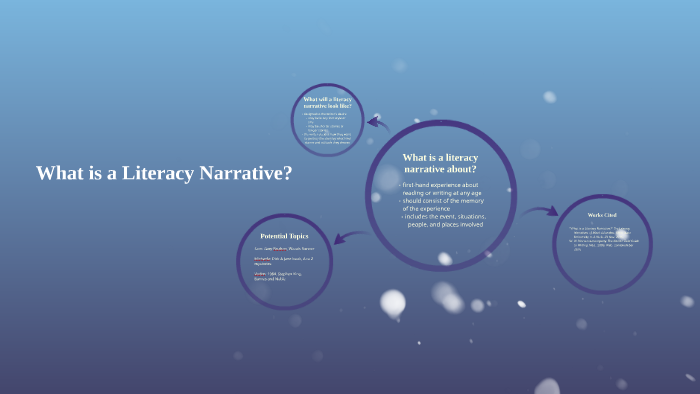 literacy narrative topics