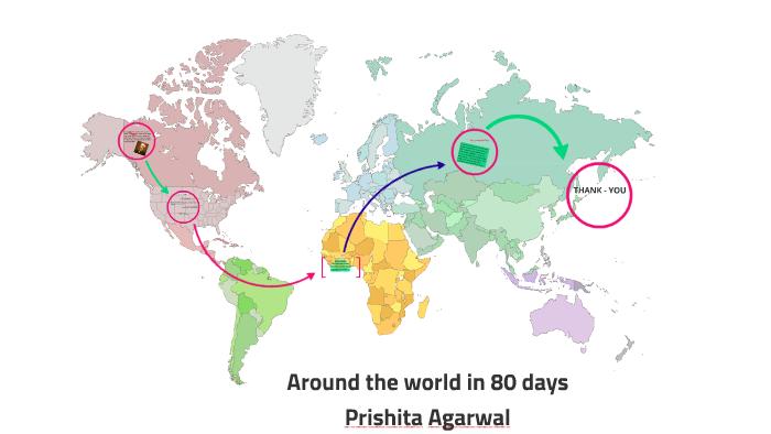 Around the world in 80 days book presentation by prishita ...