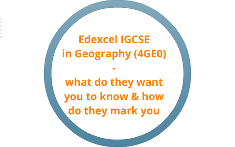 Edexcel Igcsegeography