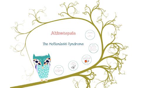 akinetopsia case study