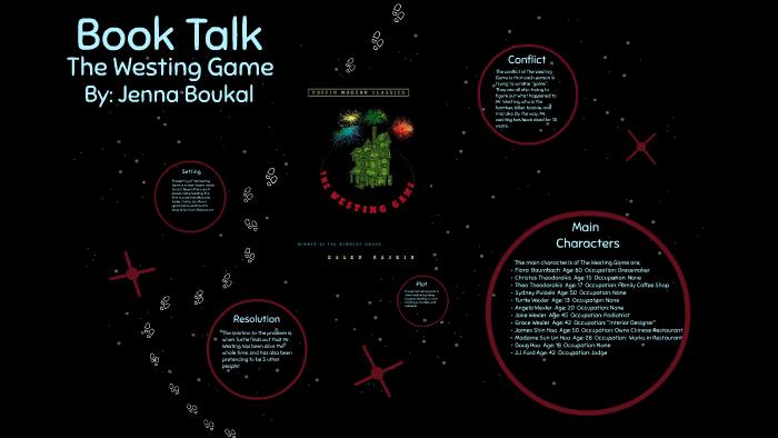 Book Talk by Jenna Boukal on Prezi