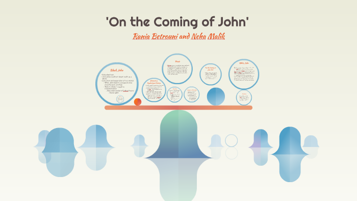 of the coming of john