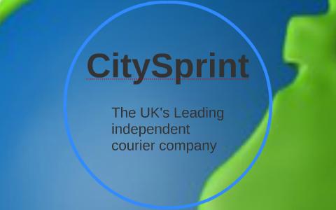 CitySprint by David Drake on Prezi