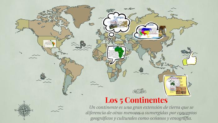 Los 5 Continentes By Andrea Trujillo On Prezi